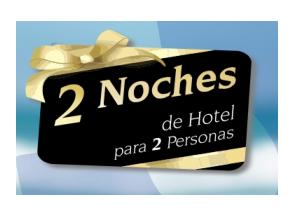 Promocion 2 Noches De Hotel Gratis Con Su Pedido Superior A 89 Euros No Acumulable Con Otras Promociones