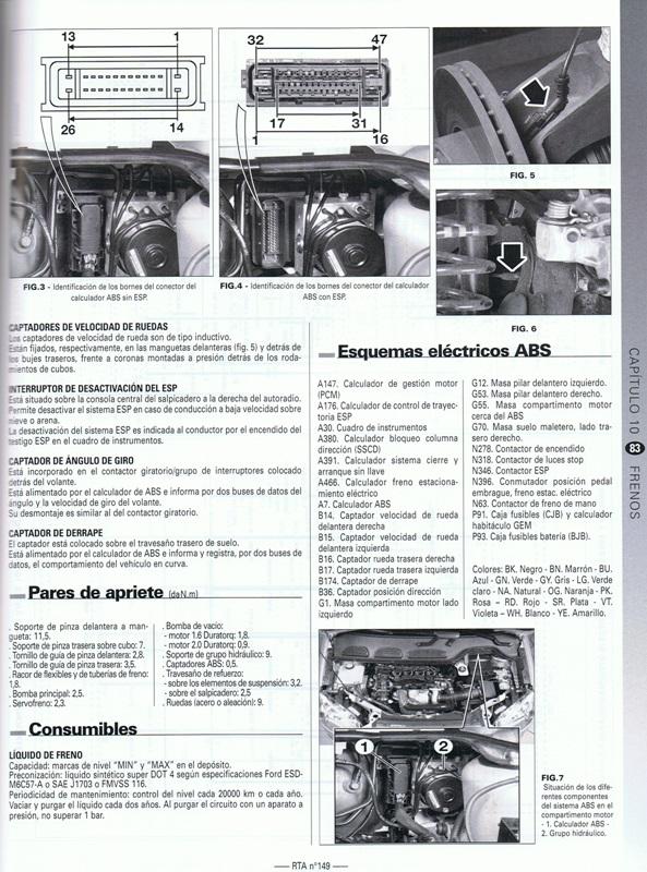 MANUAL DE TALLER Y MECANICA  RENAULT MASTER III FASE 1 desde 04/2010>05/2014 RTA 247