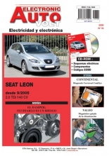 SEAT LEON MANUAL DE TALLER ELECTRICIDAD + CD ROM 2005