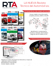 NUEVA REVISTA TECNICA DEL AUTOMOVIL SUSCRIPCION ANUAL+ESQUEMAS ELECTRICOS ONLINE