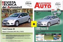 MANUAL DE TALLER FORD FOCUS III DIESEL 1.6 DURATORQ TDCI +MANUAL ELECTRICO Y CD ROM  +REGALO TESTER
