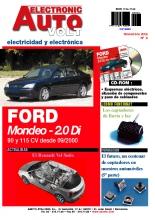 MANUAL DE TALLER ELECTRICO Ford Mondeo. Motor 2.0 Di 90 y 115 CV desde 09/2000 - EA6 +CD ROM