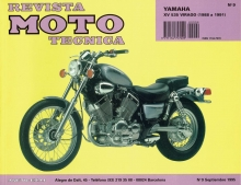 MANUAL TALLER Y REPARACION YAMAHA  XV 535 VIRAGO 1988-1991