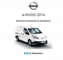 MANUAL Y GUIA  NISSAN eNV 200