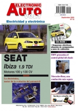 MANUAL DE TALLER SEAT IBIZA TDI 2002 +CD ROM ELECTRICO EAV19