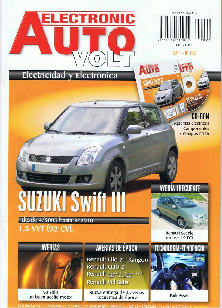 manual de taller electricidad suzuki swift iii 1 3 vvt 92