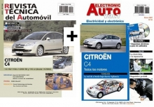 MANUAL DE TALLER Y MECANICA CITROEN C4  1.6 HDI 90 Y 110 CV 158 +MANUAL ELECTRICO CD ROM  EAV55