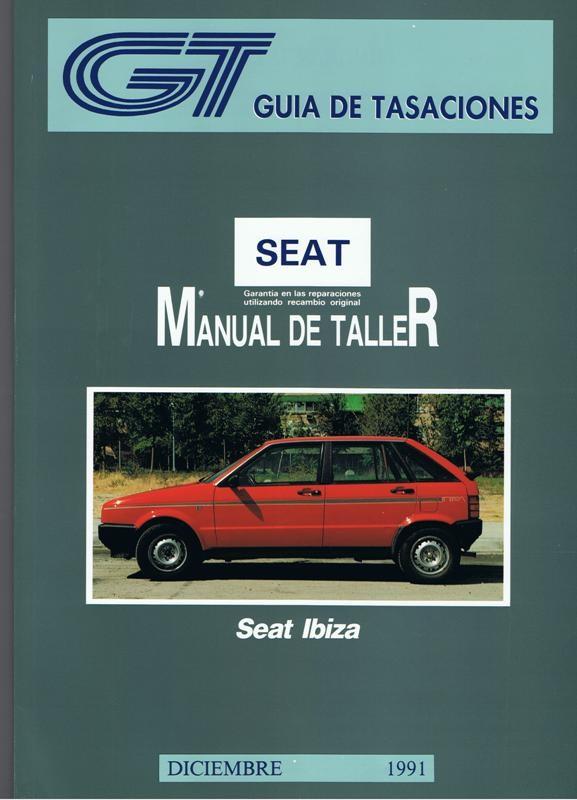 MANUAL DE TALLER Y MECANICA SEAT  IBIZA GASOLINA Y DIESEL