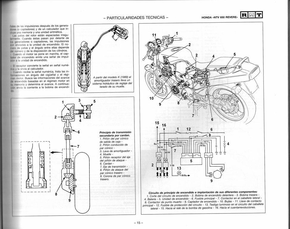 MANUAL DE TALLER Y REPARACION Y MECANICA HONDA VFR 750 L Y M 1990-1991