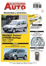 MANUAL DE TALLER CITROEN BERLINGO/PEUGEOT PARTNER HDI 2002+ CD ROM ELECTRICIDAD EAV75 REGALO TESTER