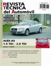 MANUAL DE TALLER AUDI A4 1.9TDI 2.0TDI DESDE 2004 RTA156