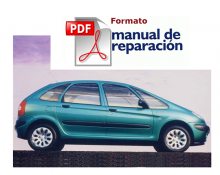 MANUAL DE TALLER Y MECANICA CITROEN XSARA PICASSO DIESEL PDF