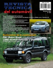 MANUAL DE TALLER Y  MECANICA LAND ROVER DEFENDER y DISCOVERY 2.5 DIESEL 1994-98