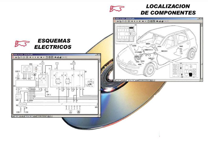 Manual de taller y Electricidad MERCEDES CLASE C 2004-07 +CD rom