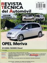 MANUAL DE TALLER Y MECANICA OPEL MERIVA 1.3 CDTI 1/2006 a 10/2009-R198 + REGALO TESTER