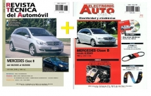 MANUAL DE TALLER MERCEDES BENZ CLASE B 2005-2008 180 CDI 200 CDI+EAV ELECTRICIDAD Y CD ROM +REGALO PACK