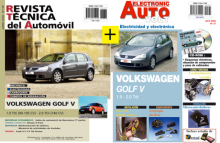 MANUAL DE TALLER GOLF V 1.9 Y 2.0 TDi MECANICA Y MANUAL  ELECTRICIDAD+CD ROM,desde 2004+TESTER