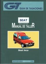 MANUAL DE TALLER Y MECANICA SEAT  INCA-IBIZA 97 GASOLINA Y DIESEL +REGALO TESTER