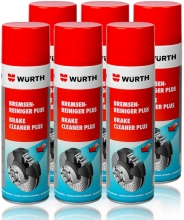 GENUINE WURTH FRENO LIMPIADOR DISOLVENTE EN AEROSOL SPRAY 500 ML x 1 uds.