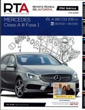 MANUAL DE TALLER y MECANICA MERCEDES CLASE A III-FASE I A180CDi R261
