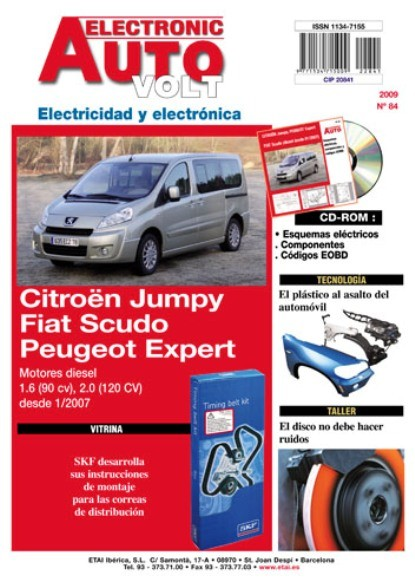 Manual De Taller Citroen Jumpy Peugeot Expert Elect   Cd