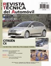 MANUAL DE TALLER Y MECANICA CITROEN C4 1.6 16V 1.6 HDI 90 Y 110 CV nº158