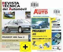 MANUAL DE TALLER PEUGEOT 406 HDI DESDE 2000 + MANUAL ELECTRICIDAD 406 HDI+CD ROM