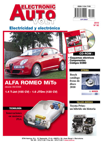 MANUAL DE TALLER ELECTRICO ALFA ROMEO MITO  1.4 T-Jet y 1.6 JTDm desde 09/2008+CD ROM