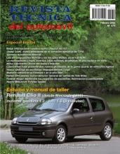 MANUAL DE TALLER RENAULT CLIO GASOLINA 8 VALVULAS DESDE 1.998  Nº79+TESTER