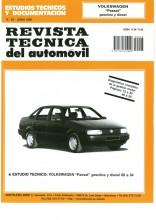 MANUAL DE TALLER Y MECANICA VOLKSWAGEN PASSAT DESDE 1988 GASOLINA DIESEL R235+TESTER