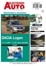 MANUAL DE TALLER DACIA LOGAN gas y diesel  ELECTRICIDAD + CD ROM EAV83