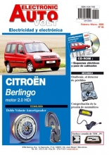 MANUAL DE TALLER CITROEN BERLINGO 2.0 HDI (2002-2005) + CD ROM ELECTRICIDAD EAV REGALO TESTER