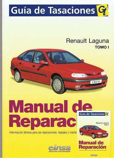 MANUAL DE TALLER  REPARACIÓN RENAULT LAGUNA GASOLINA Y DIESEL INCLUYE EL V6+TESTER