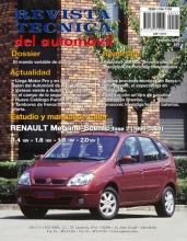 MANUAL DE TALLER RENAULT MEGANE SCENIC, COUPE  CABRIOLET GASOLINA 1997 A 1999 RT110+TESTER