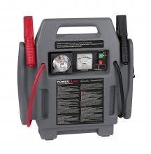 Cargador y Arrancador de baterías 4-en-1 Powerplus POWE80090