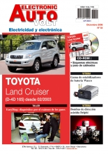MANUAL DE TALLER TOYOTA LAND CRUISER 3.0 D4D (DESDE 2003)EAV Nº 054+ CD ROM ELECTRICIDAD