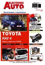 MANUAL DE TALLER TOYOTA RAV 4 2.0 TD (DESDE 07/2000) EAV Nº 21+ CD ROM ELECTRICIDAD