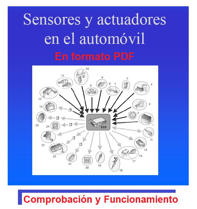 MANUAL DE TALLER ACTUADORES Y SENSORES COMPROBACION Y FUNCIONAMIENTO PDF