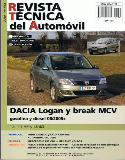 Manual De Taller Y Mecanica Dacia Logan Y Break Desde 6