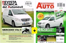 MANUAL DE TALLER  MERCEDES VITO II  09/2010 DIESEL 2.2 CDI+EAV ELECTRICIDAD Y CD ROM +REGALO  PACK