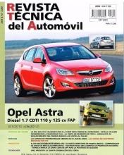 MANUAL DE TALLER Y MECANICA OPEL ASTRA DIESEL 1.7 CDTI 110 Y 125 CV - 01/2010 A 06/2012 R 239+REGALO