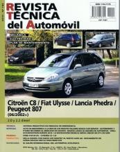 MANUAL DE TALLER Y MECANICA PEUGEOT 807- 2.0HDI, 2.2HDI- DESDE 6-2006 R192