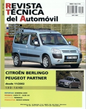 MANUAL DE TALLER Y MECANICA CITROEN  BERLINGO/PEUGEOT PARTNER  RT180