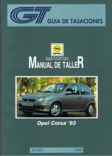 MANUAL DE REPARACION OPEL CORSA B DESDE 1993 GASOLINA Y DIESEL