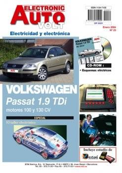 MANUAL DE TALLER VOLKSWAGEN PASSAT 1.9 TDi 2000/05,EAV +CD ROM ELECTRICIDAD Nº23