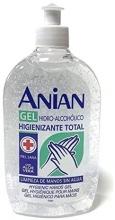 GEL HIDROALCOHOLICO ANTISEPTICO Bactericida, levaduricida, con ALOE VERA  de 500 ml.