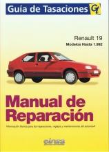 MANUAL DE REPARACION RENAULT 19 HASTA 1992 GASOLINA Y DIESEL+TESTER