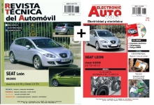 MANUAL DE TALLER SEAT LEON 2005+MANUAL ELECTRICO Y CD ROM + PACK ACCESORIOS
