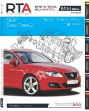 MANUAL DE TALLER Y REPARACION SEAT EXEO FASE 2 2.0 TDI HASTA 11/2011 R248
