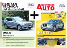 MANUAL DE TALLER BMW X3-2.0 DIES.+ EAV ELECTRICIDAD BMW X3 +CD ROM+ REGALO PACK